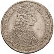 ½ Thaler - Karl III Joseph von Lothringen – obverse