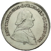 20 Kreuzer - Anton Theodor of Colloredo-Waldsee – obverse