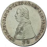 20 Kreuzer - Rudolph Johann – obverse
