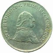 ½ Thaler - Anton Theodor of Colloredo-Waldsee – obverse