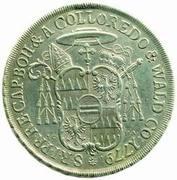 ½ Thaler - Anton Theodor of Colloredo-Waldsee – reverse