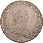 1 Thaler - Anton Theodor of Colloredo-Waldsee – obverse