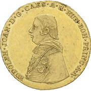 1 Ducat - Rudolph Johann – obverse