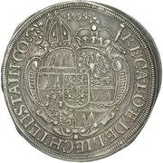 1 Thaler - Karl II von Liechtenstein-Kastelkorn – reverse