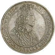 1 Thaler - Karl III Joseph von Lothringen – obverse