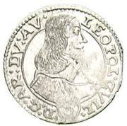 3 Kreuzer - Leopold Wilhelm von Österreich (Kremsier) – obverse
