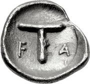 Tetartemorion - 95th Olympiad – reverse