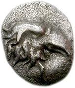 Tetartemorion - 95th Olympiad – obverse