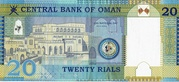 20 Rials (40th National Day) – reverse
