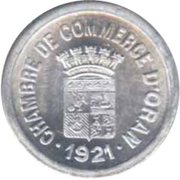 10 Centimes (Oran Chamber of Commerce) – obverse
