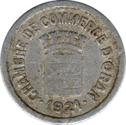 5 Centimes (Oran Chamber of Commerce) – obverse