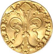 Gold Florin - Raymond IV – reverse
