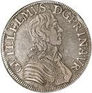 Écu - Guillaume IX – obverse