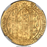 Franc à pied - Raymond IV – obverse