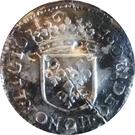 1/12 écu Guillaume-Henri De Nassau – reverse