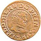 Double Tournois - Frédéric-Henri (1st type) – obverse