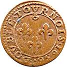 Double Tournois - Frédéric-Henri (1st type) – reverse