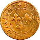 Double Tournois - Frédéric-Henri (5th type) – reverse