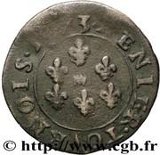 Denier Tournois - Frédéric-Maurice (8th type) – reverse