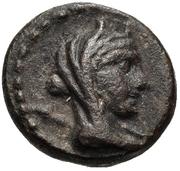Bronze Æ12 – obverse