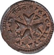 1 Grano - Antonio Manoel de Vilhena – reverse
