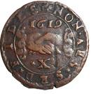 10 Grani, 1 Carlino - Alof de Wignacourt – reverse