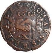10 Grani - Alof de Wignacourt – reverse