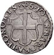 1 Carlino - Alof de Wignacourt – reverse