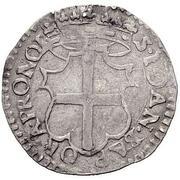 1 Carlino - Gregorio Carafa – reverse