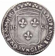 1 Carlino - Adrian de Wignacourt – obverse