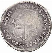 1 Carlino - Adrian de Wignacourt – reverse