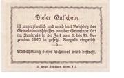 50 Heller (Ort im Innkreis) – reverse