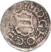 1 Schilling - Magnus (Arensburg; lined shield) – obverse