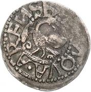 1 Schilling - Magnus (Arensburg; lined shield) – reverse