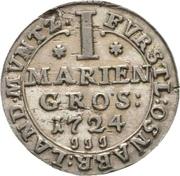 1 Mariengroschen - Ernst August II. von York – reverse