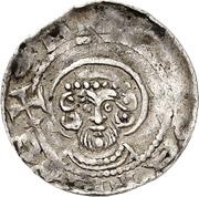 1 Pfennig - Konrad I. von Velber – obverse
