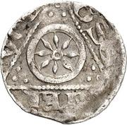 1 Pfennig - Konrad I. von Velber – reverse