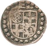 1 Heller - Erich II. von Braunschweig-Grubenhagen – obverse