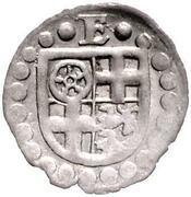1 Pfennig - Erich II. von Braunschweig-Grubenhagen – obverse