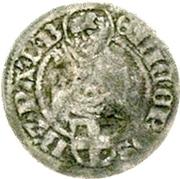 ⅛ Schilling - Erich II. von Braunschweig-Grubenhagen – obverse