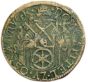 9 Pfennig (Domkapitel) – obverse