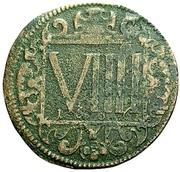 9 Pfennig (Domkapitel) – reverse