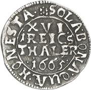 1/16 Thaler - Ernst August I – reverse