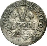 5 Pfennig - Karl von Lothringen – reverse
