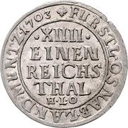 1/14 Thaler - Karl von Lothringen – reverse