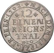 1/12 Thaler - Karl von Lothringen – reverse