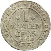 1 Mariengroschen - Karl von Lothringen – reverse