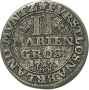 2 Mariengroschen - Ernst August II von York – reverse