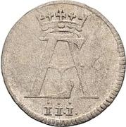 6 Pfennig - Ernst August II von York – obverse