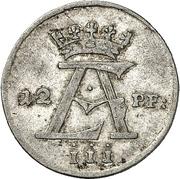 12 Pfennig - Ernst August II von York – obverse